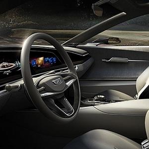 Koncept Cadillac Escala - interiér