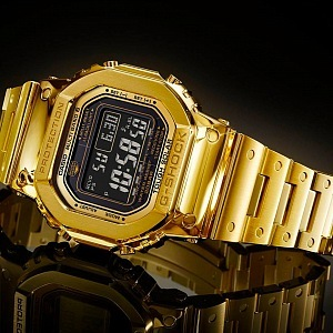 Casio G-Shock ze zlata