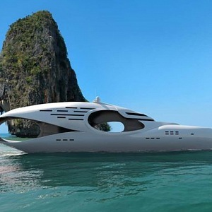 Moderní jachta Infinitas