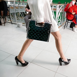 Černé lodičky Louis Vuitton