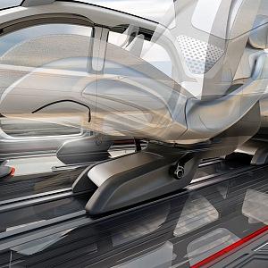 Variabilita interieru vozu