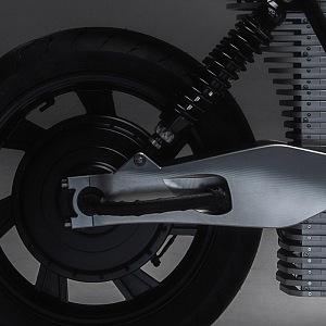 Ethec elektická motorka, kolo