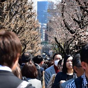 V Japonsku jsou roušky běžné