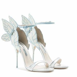 Luxusní a sladké svatební boty od Sophie.