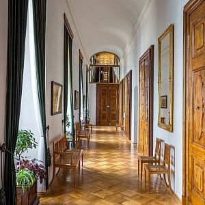 Chodba u soukromých pokojů