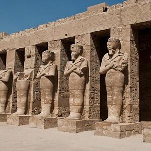 Socha má dle Egypta pocházet z chrámu Karnak