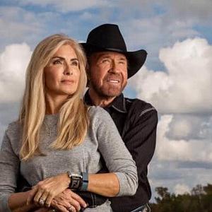 Chuck Norris s manželou Genou.
