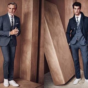 Luxusní móda pro muže.