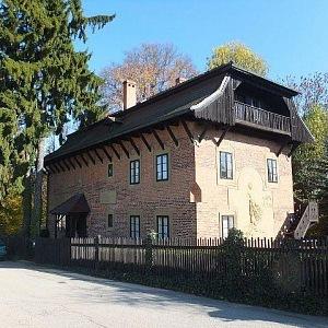 František Bílek, vila v jižních Čechách