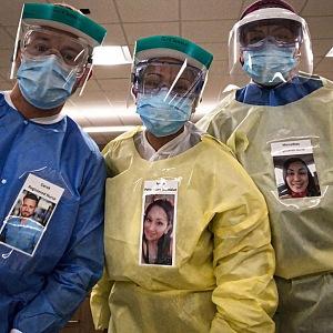 Coronavirus a zdravotníci v chicagské nemocnici