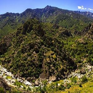 Amazing nature of Corsica