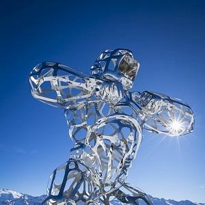 Luxusní sochy, Richard Orlinski, Courchevel