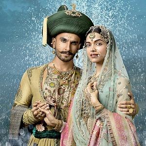 Deepika Padukone s manželem Raveerem.