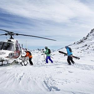 Vrtulníkem na samotný vrchol