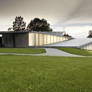 Nový moderní kostel v Litomyšli