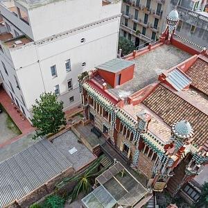Casa Vicens - z ptačí perspektivy