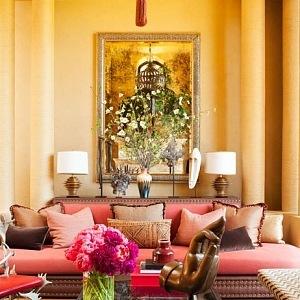 Jedna z obývacích pokojů, foto Roger Davies