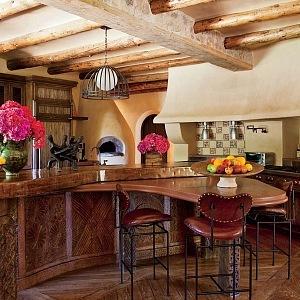 Kuchyně v africkém stylu, foto Roger Davies