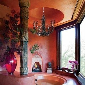 Koupelna, foto Roger Davies