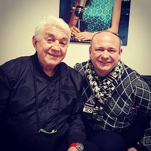 David s Jiřím Krampolem.