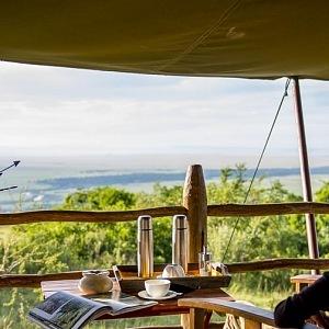 A view Kilima camp