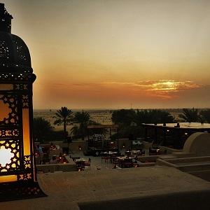 Luxus ve vyprahlé poušti