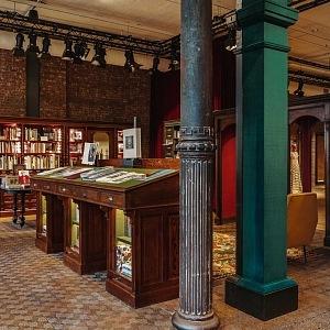 Gucci a jeho první knihkupectví, New York