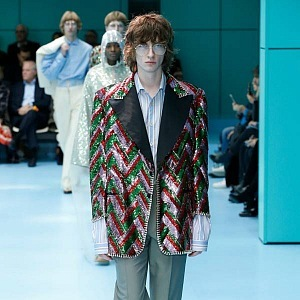 Modely Gucci evokují retro!