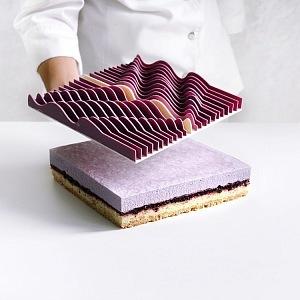 Dinara Kasko a matematicko designové zpracování dortu