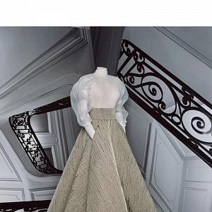 Šaty Dior z kolekce Dior Fall 2020 Haute Couture