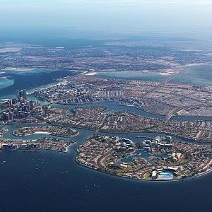 Vodní park se bude rozkládat u města Diyar Al Muharraq.