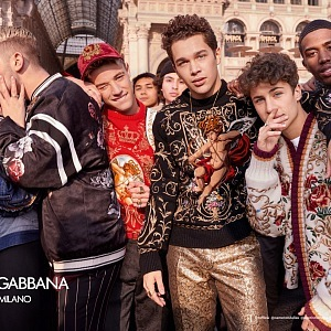 Dolce&Gabbana Fall Winter 2018-19 Campaign shot by The Morelli Brothers.