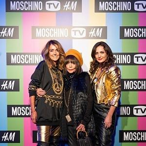 Dominique Fantaccino, Františka Čížková,Slavomíra Barnová, PR manager H&M
