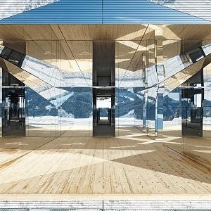 Interior of Mirage, Switzerland