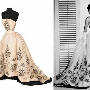 Audrey Hepburn, Sabrina, šaty Givenchy