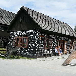 Dřevěnice v Čičmanech