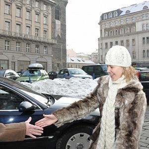Rodačka z Litvy se s prezidentem Havlem několikrát osobně setkala.