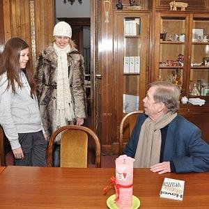 Havel často diskutoval i navrhoval, co by nadaci mohlo ještě více prospívat.