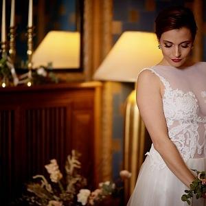 Wedding dress by Petra Pilařová