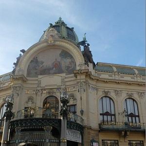 The Municipal House - exterior