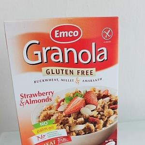 Bezlepková granola