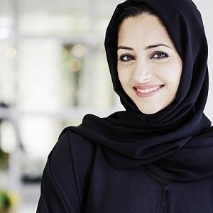 Krásné ženy Arabského poloostrova