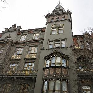 House U Synagogy, Pařížská street