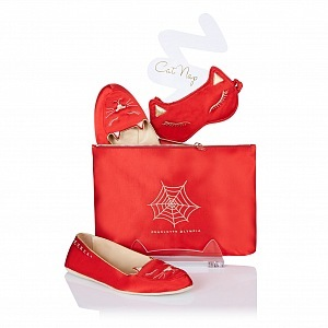 Charlotte Olympia - Red for Rudolph