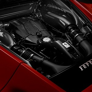 Ferrari Tributo F8, motor