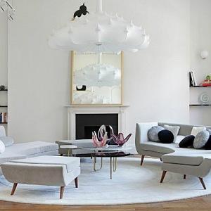 Eklekticismus v obývacím pokoj