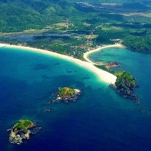 Pláž El Nido na Filipínách.