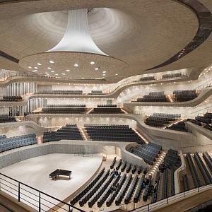 Elbphilharmonie, Velký sál