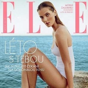 Topmodelka se objevila na několika titulních stranách prestižních časopisů.