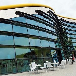 Muzeum Ferrari, architekt Jan Kaplický